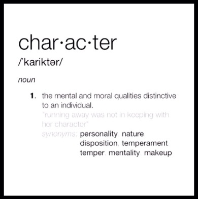 Image result for character definition
